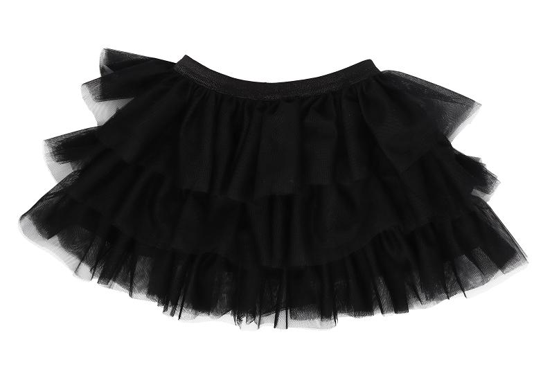 Mamatti Dětská tylová sukně Mašle