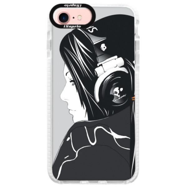 Silikonové pouzdro Bumper iSaprio - Headphones - iPhone 7