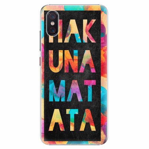 Plastový kryt iSaprio - Hakuna Matata 01 - Xiaomi Mi 8 Pro