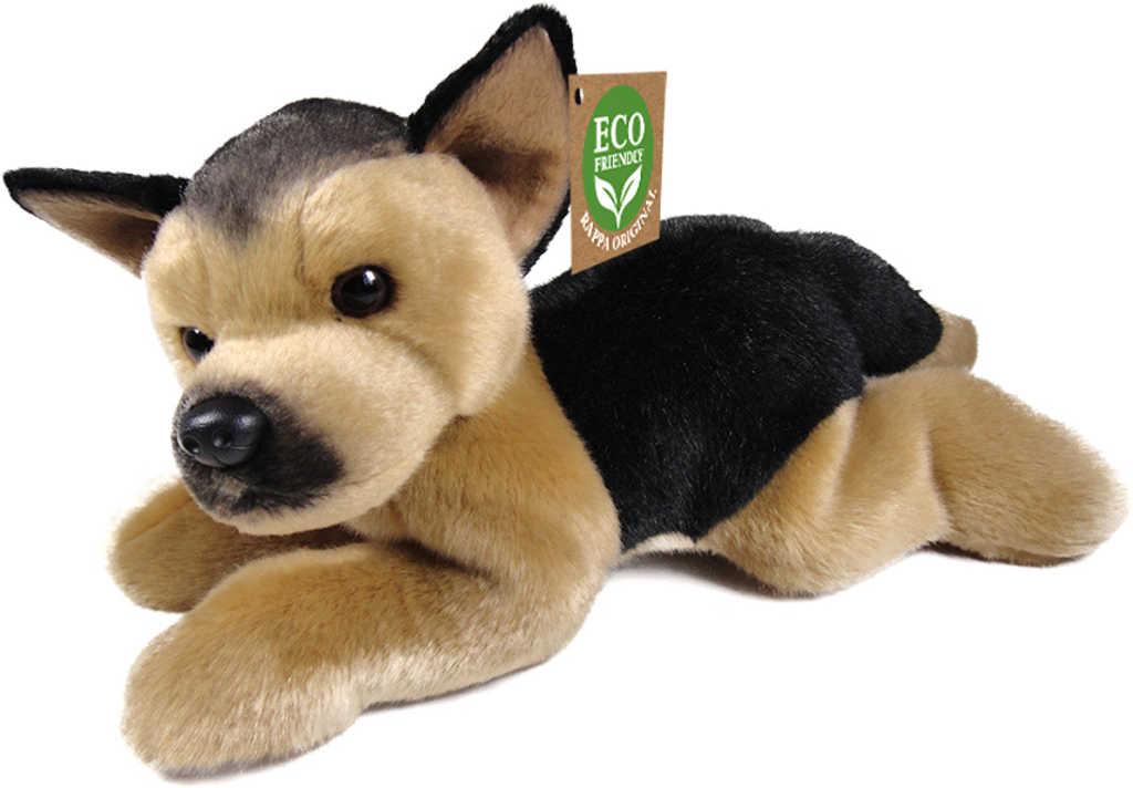 PLYŠ Pes německý ovčák 30cm Eco-Friendly *PLYŠOVÉ HRAČKY*