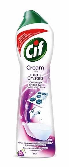 Cream Lila flower krémový čisticí písek 500 ml