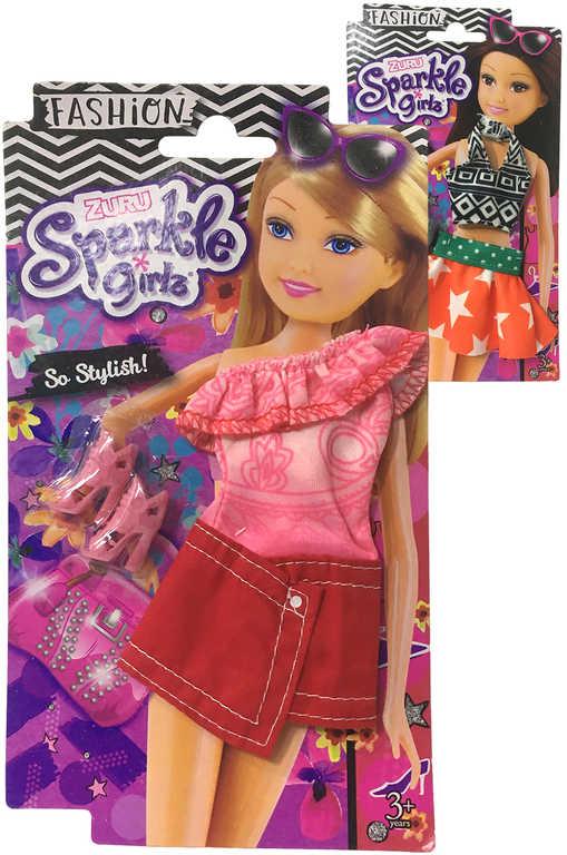 Sparkle Girlz trendy letní obleček outfit s doplňky pro panenku