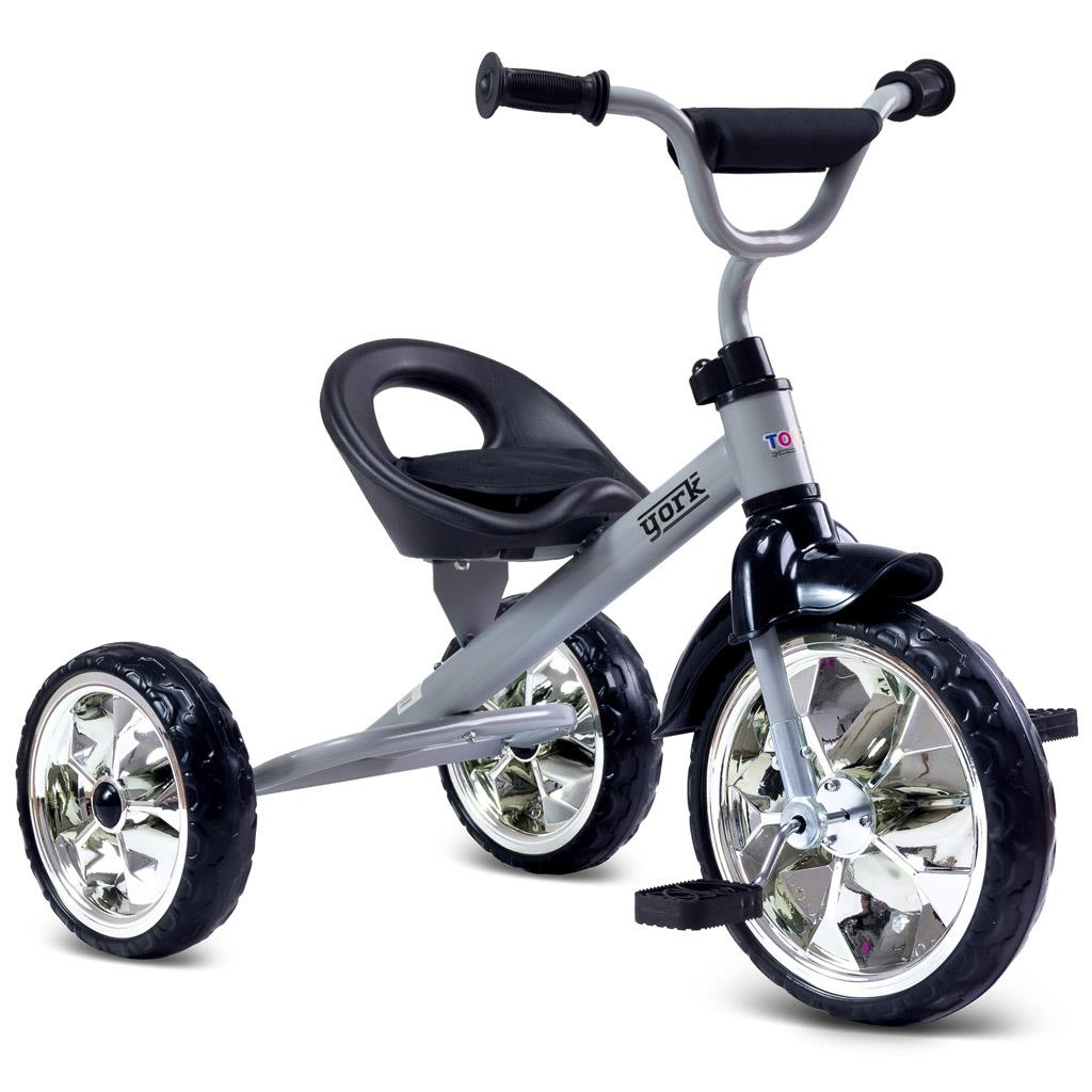 Dětská tříkolka Toyz York - grey - šedá