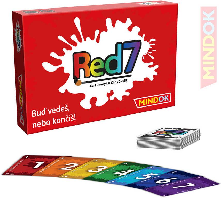 MINDOK HRA karetní Red 7