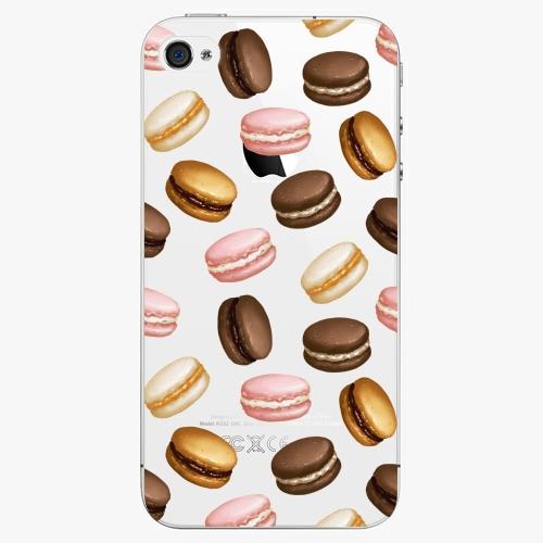 Plastový kryt iSaprio - Macaron Pattern - iPhone 4/4S