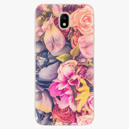 Silikonové pouzdro iSaprio - Beauty Flowers - Samsung Galaxy J5 2017