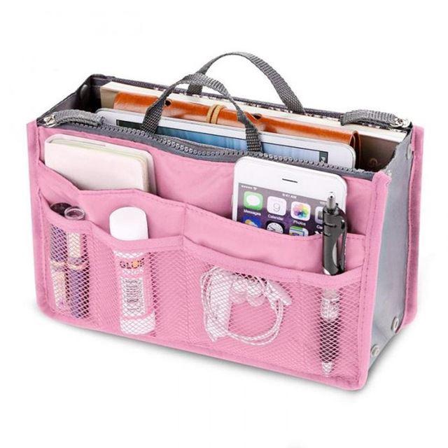 Organizér do kabelky - růžový
