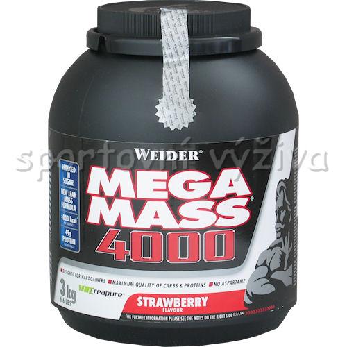 Giant Mega Mass 4000 - 3000g-strawberry