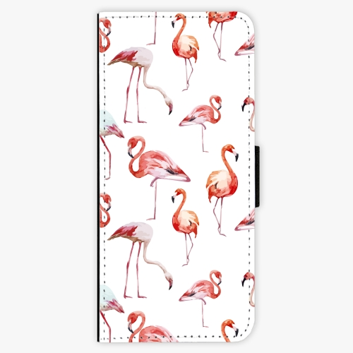 Flipové pouzdro iSaprio - Flami Pattern 01 - Samsung Galaxy J3