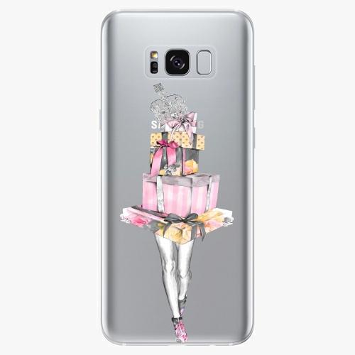 Silikonové pouzdro iSaprio - Queen of Shopping - Samsung Galaxy S8