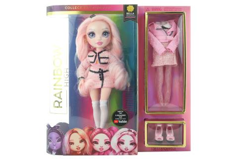 Rainbow High Fashion panenka - Bella Parker (růžová) TV