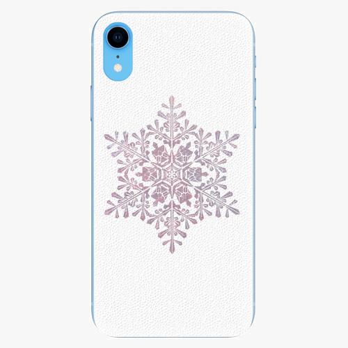 Silikonové pouzdro iSaprio - Snow Flake - iPhone XR