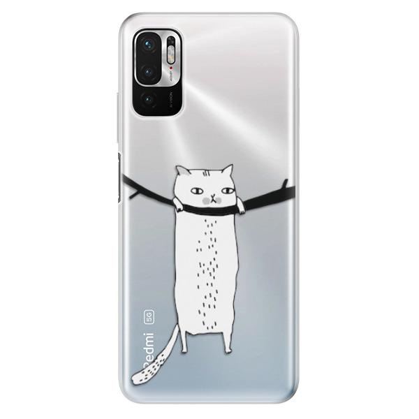 Odolné silikonové pouzdro iSaprio - Hang in there - Xiaomi Redmi Note 10 5G