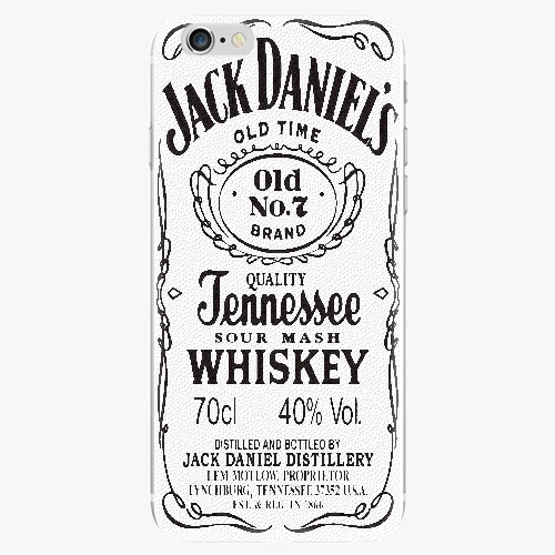 Plastový kryt iSaprio - Jack White - iPhone 6/6S