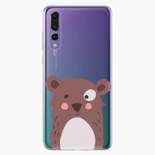 Plastový kryt iSaprio - Brown Bear - Huawei P20 Pro