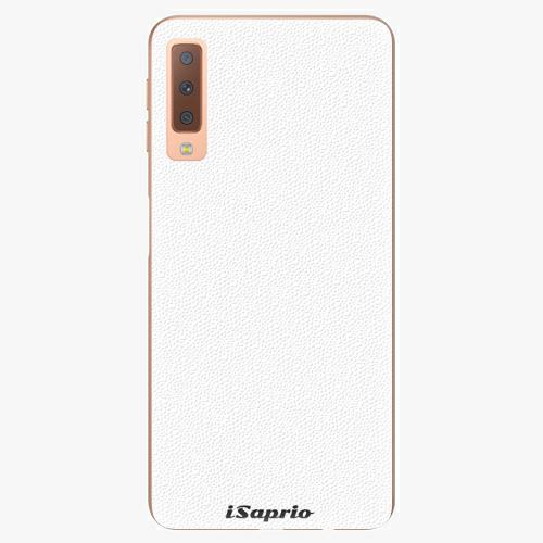Plastový kryt iSaprio - 4Pure - bílý - Samsung Galaxy A7 (2018)