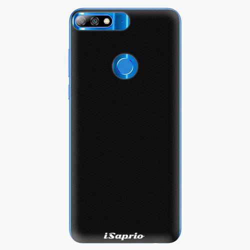 Silikonové pouzdro iSaprio - 4Pure - černý - Huawei Y7 Prime 2018