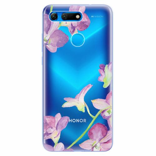 Silikonové pouzdro iSaprio - Purple Orchid - Huawei Honor View 20