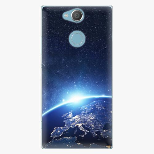 Plastový kryt iSaprio - Earth at Night - Sony Xperia XA2