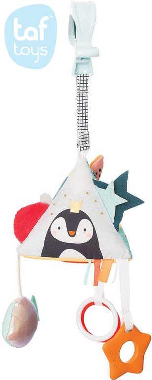 TAF TOYS Baby pyramida Severní pól závěsné chrastítko a kousátko pro miminko