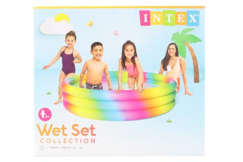 INTEX Bazén kruh 168 x 40 cm 58449