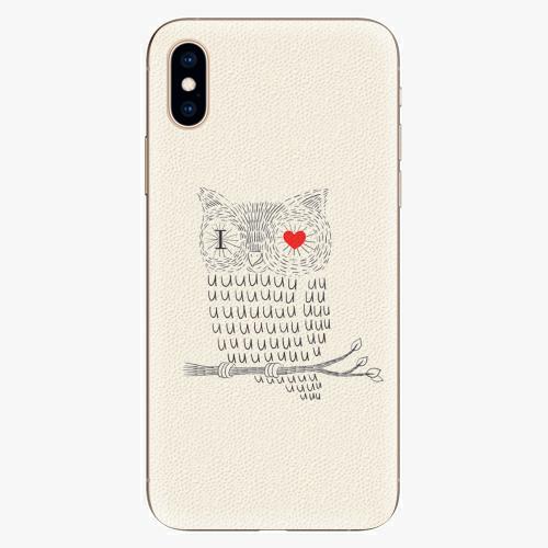 Plastový kryt iSaprio - I Love You 01 - iPhone XS
