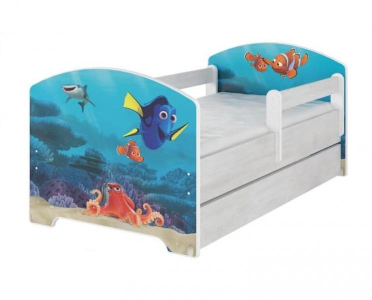 BabyBoo Dětská postel 160 x 80cm - Dorry - 140x70