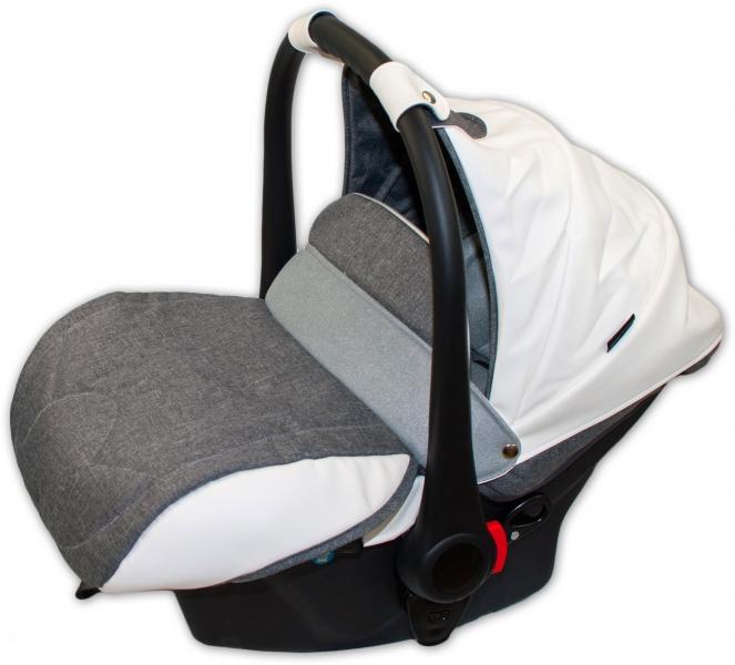 Autosedačka 0 -13kg Coto Baby Aprilia - len grey Eco