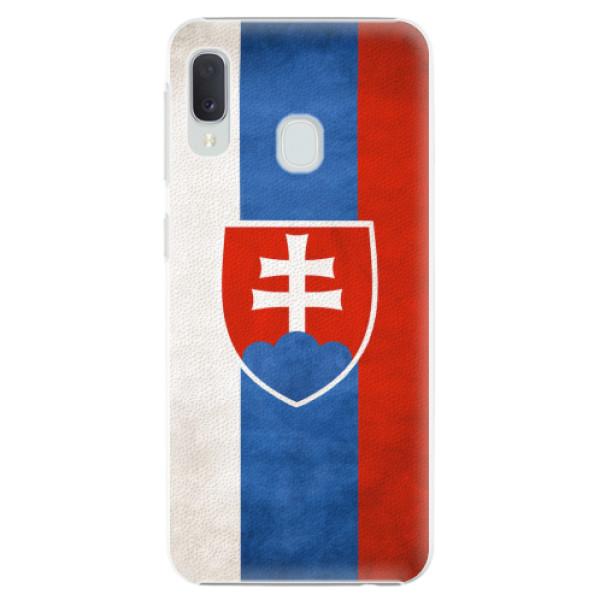 Plastové pouzdro iSaprio - Slovakia Flag - Samsung Galaxy A20e