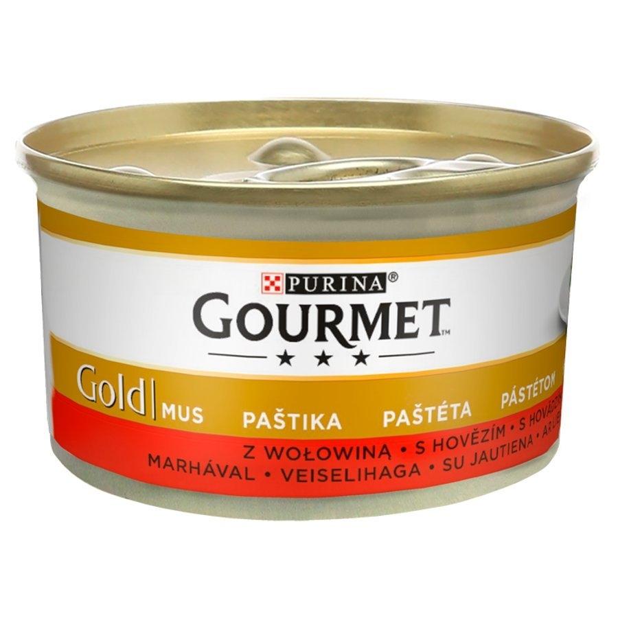 Gold paštika s hovězím 85 g