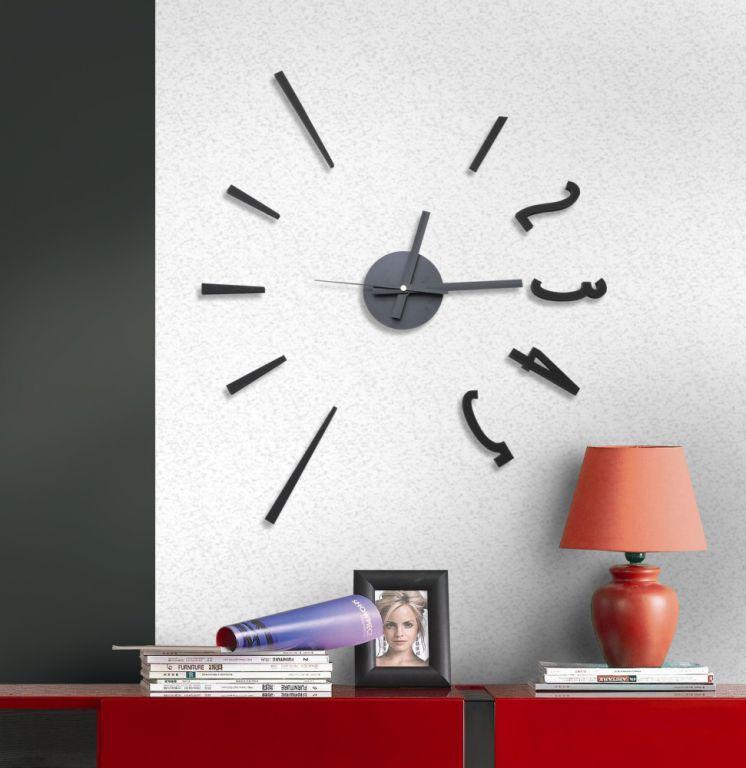 Samolepící hodiny G21 Fashion Style