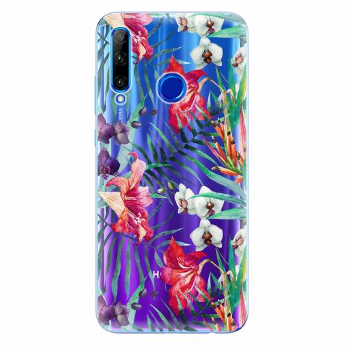 Silikonové pouzdro iSaprio - Flower Pattern 03 - Huawei Honor 20 Lite