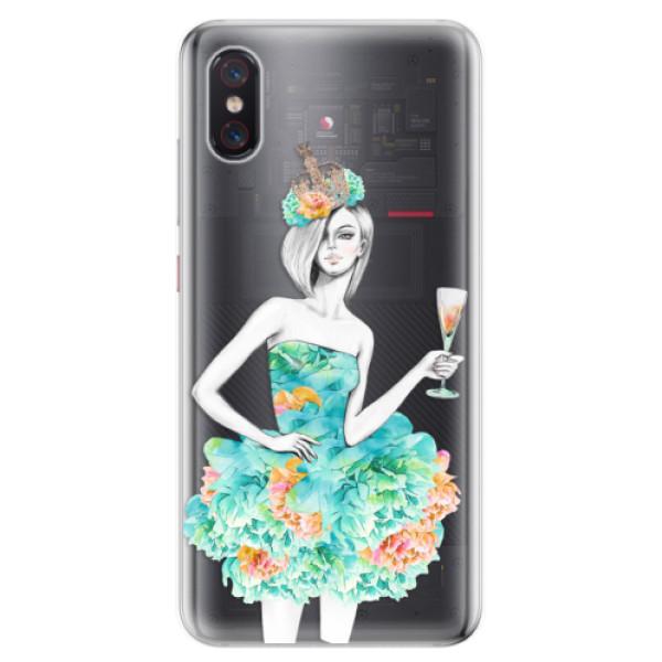 Odolné silikonové pouzdro iSaprio - Queen of Parties - Xiaomi Mi 8 Pro