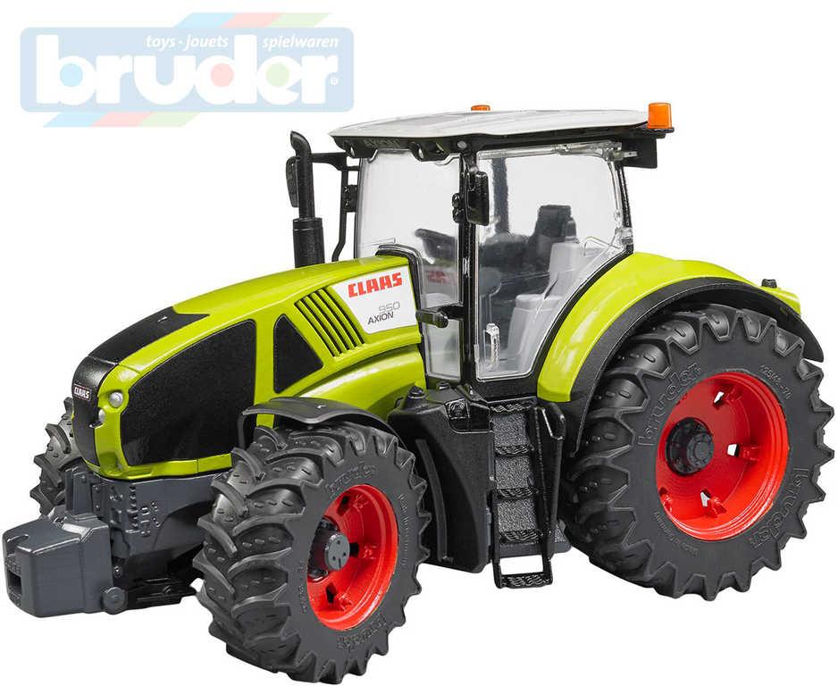 BRUDER 03012 Traktor Claas Axion 950 model 1:16 plast