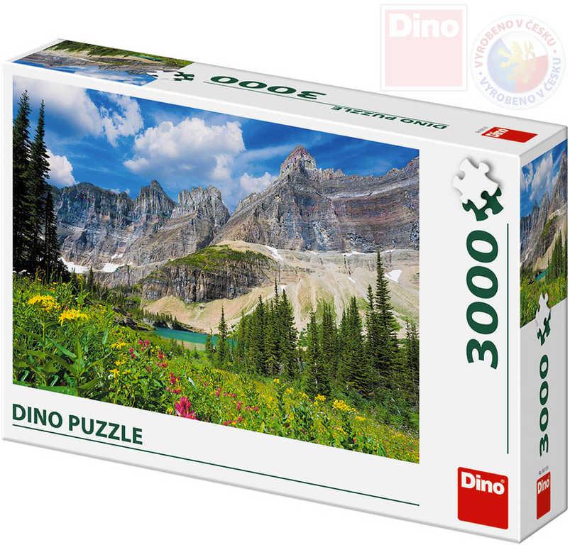 DINO Puzzle 3000 dílků Montana 117x84cm skládačka v krabici