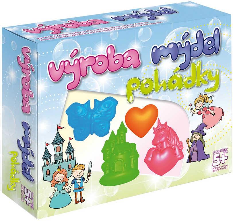 Výroba mýdel Pohádky kreativní set v krabici