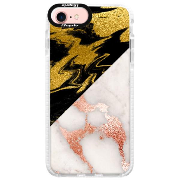 Silikonové pouzdro Bumper iSaprio - Shining Marble - iPhone 7