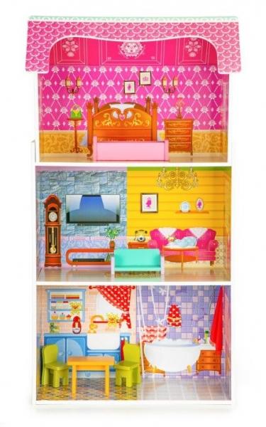 dreveny-domecek-pro-panenky-eco-toys-slunecna-rezidence