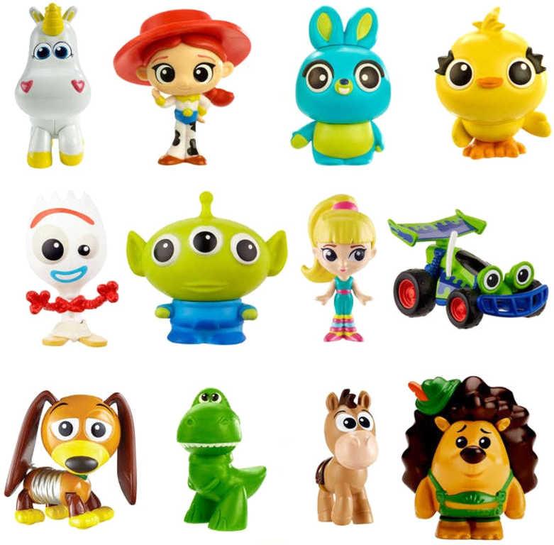 MATTEL Mini figurka Pixar Minis různé druhy v sáčku s překvapením