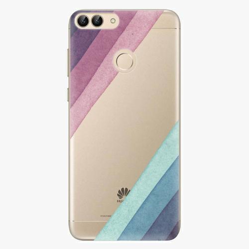 Silikonové pouzdro iSaprio - Glitter Stripes 01 - Huawei P Smart