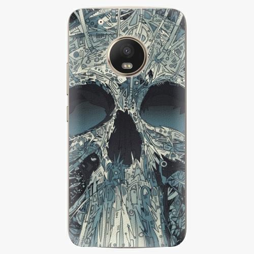 Plastový kryt iSaprio - Abstract Skull - Lenovo Moto G5 Plus
