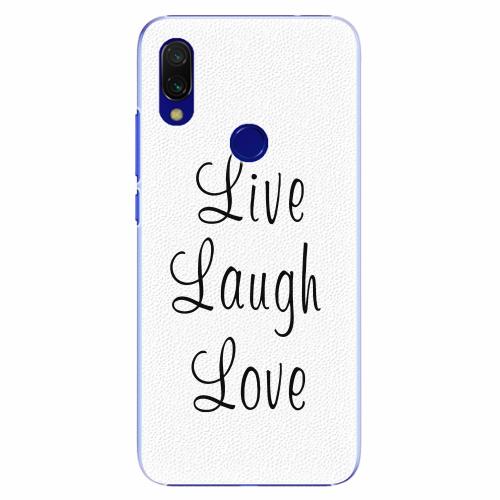 Live Laugh Love   Xiaomi Redmi 7