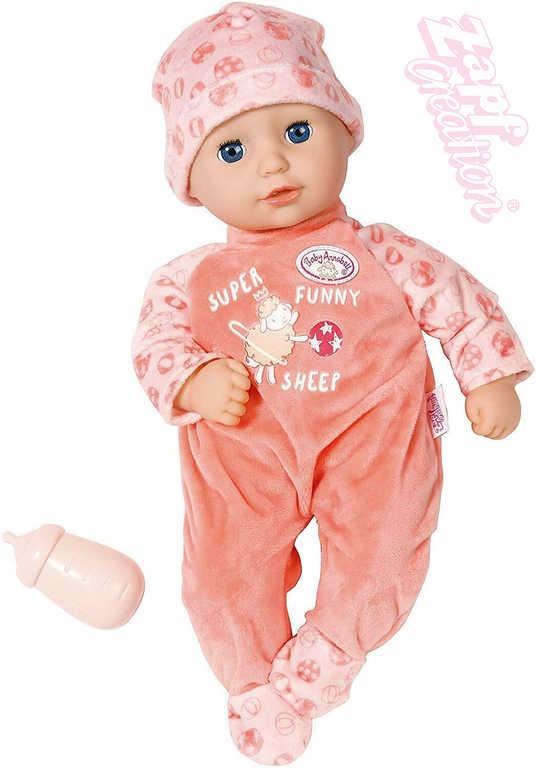 ZAPF Baby Annabell set panenka miminko 36cm + lahvička měkké tělíčko