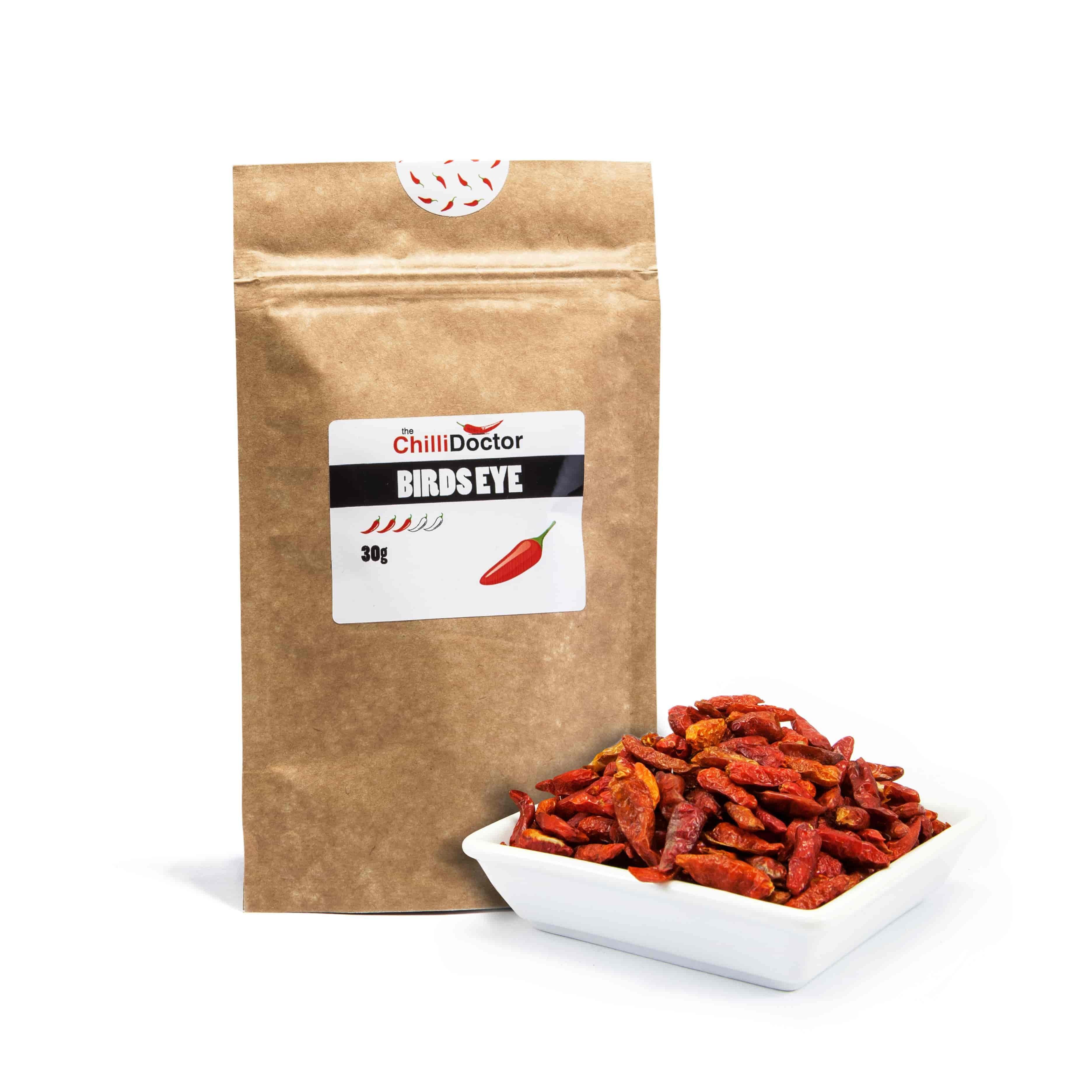 The chilli Doctor Birds Eye chilli celé sušené 30 g