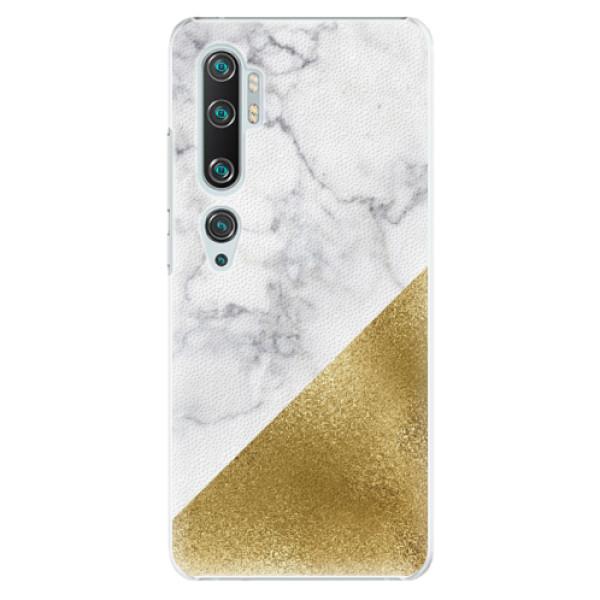 Plastové pouzdro iSaprio - Gold and WH Marble - Xiaomi Mi Note 10 / Note 10 Pro