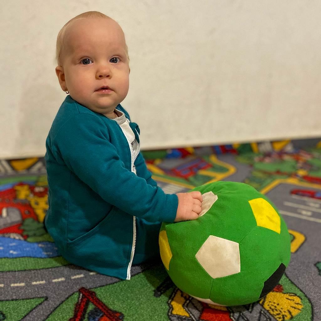 Kojenecké tepláčky a mikinka New Baby Uni