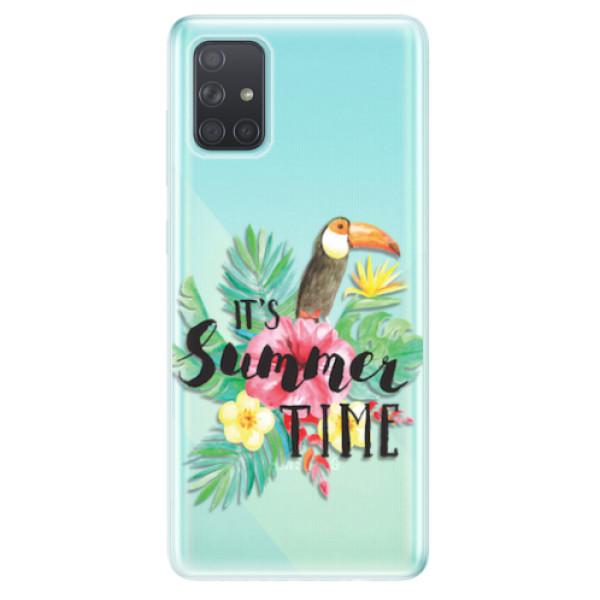 Odolné silikonové pouzdro iSaprio - Summer Time - Samsung Galaxy A71
