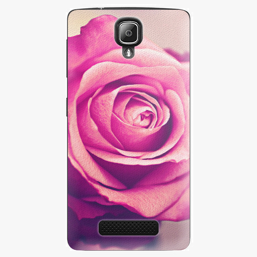 Plastový kryt iSaprio - Pink Rose - Lenovo A1000