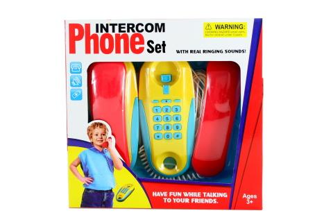 Drátové telefony