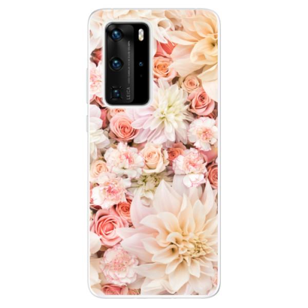 Odolné silikonové pouzdro iSaprio - Flower Pattern 06 - Huawei P40 Pro